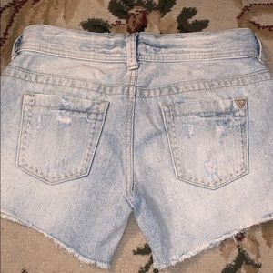 Guess jeans shorts size 25